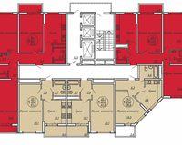 Подъезд 2, этажи 2-19