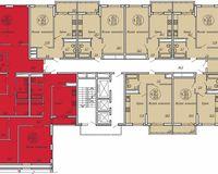 Подъезд 3, этажи 2-19