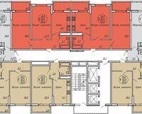 Подъезд 4, этажи 2-19
